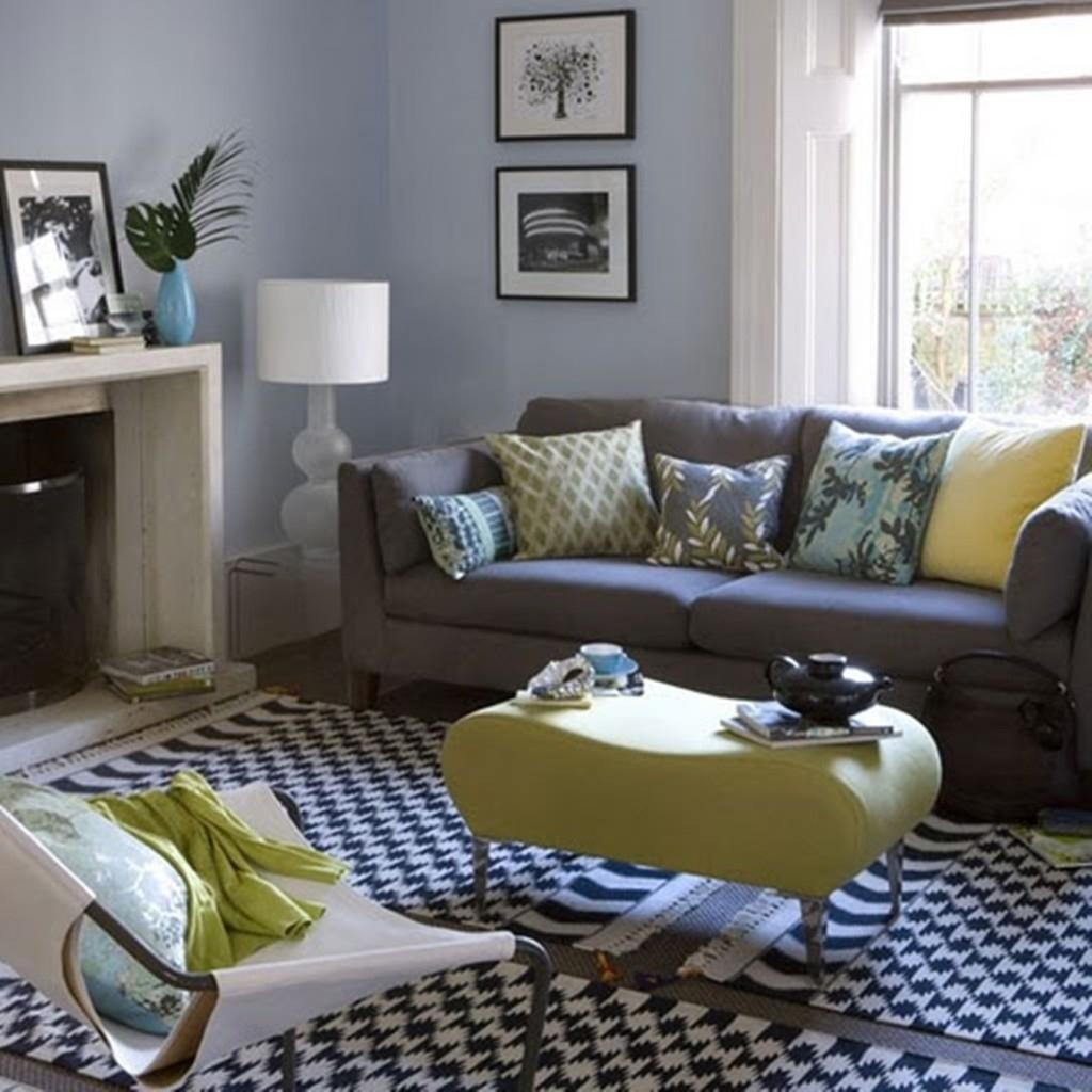 Gray Living Room Decorating Ideas With Furniture Grey Sofa Living Regarding Living Room With Grey Sofas (View 17 of 20)
