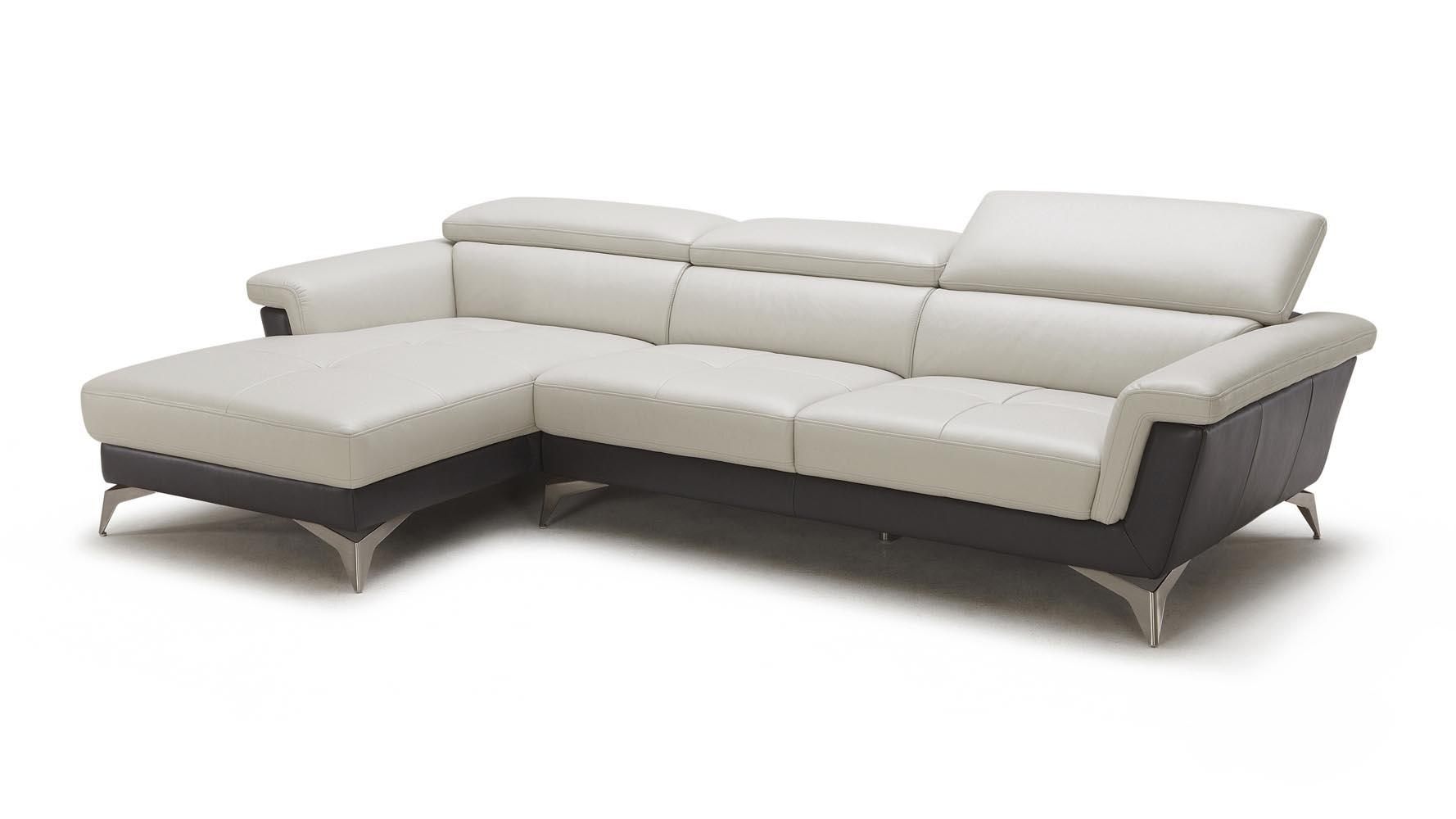 Gray/black Savoy 3 Seater Sectional Sofa | Zuri Furniture With Regard To Savoy Sofas (View 11 of 20)
