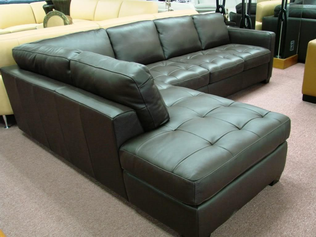 Green Leather Sectional Sofa With Design Image 29131 | Kengire With Green Leather Sectional Sofas (Image 7 of 20)