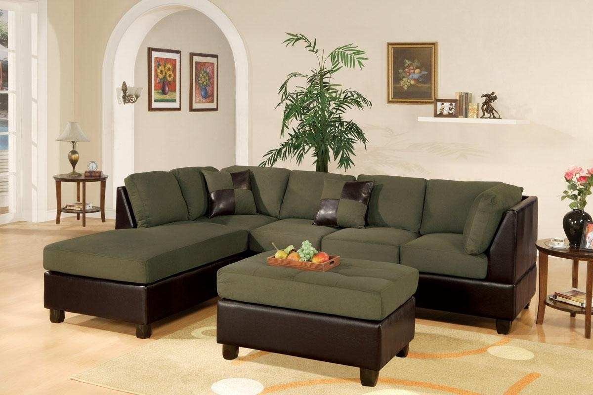 Green Leather Sofa. Lime Green Leather Sofa To Make Home Look with regard to Green Leather Sectional Sofas