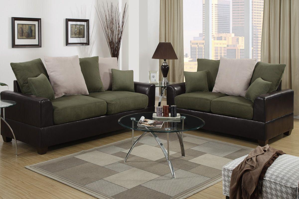 Green Microfiber Sofa - Home Design Ideas And Pictures intended for Green Microfiber Sofas