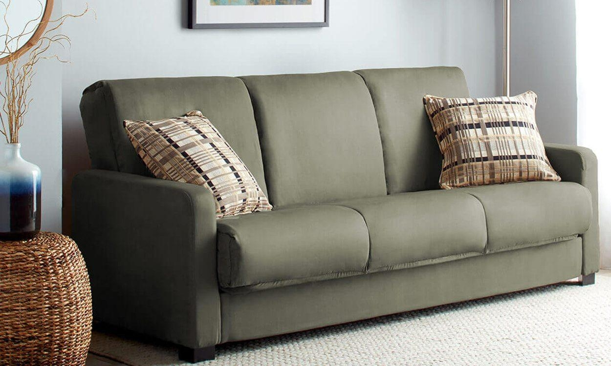 Green Microfiber Sofa – Home Design Ideas And Pictures Pertaining To Green Microfiber Sofas (Image 10 of 20)