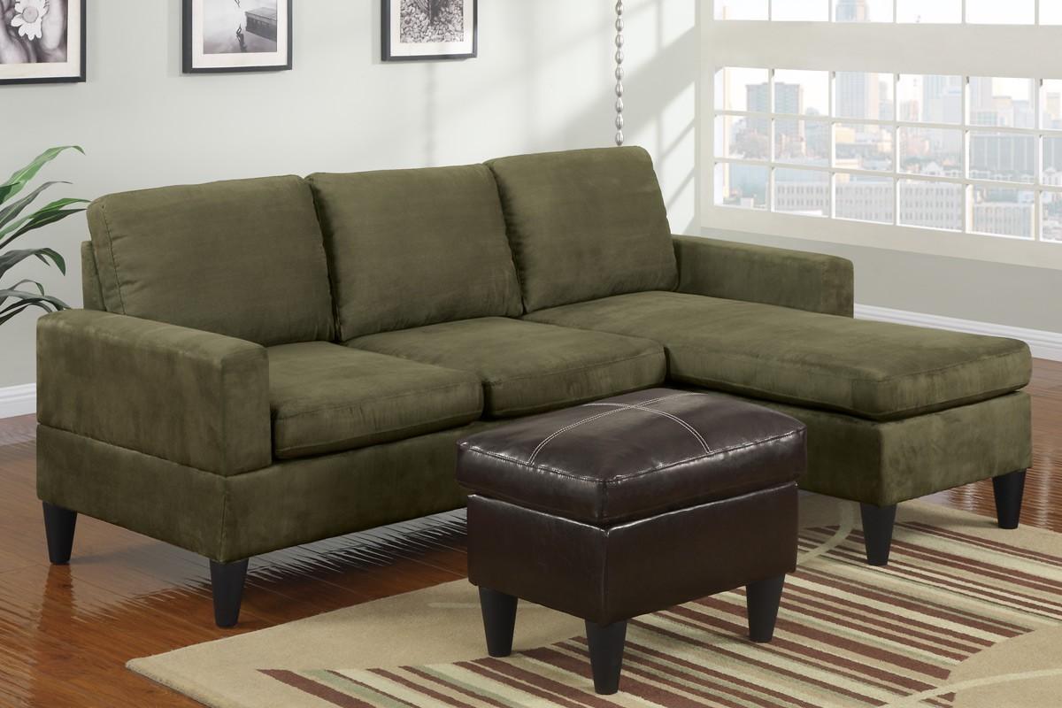Green Sectional Sofa Regarding Mini Sectional Sofas (Image 11 of 20)