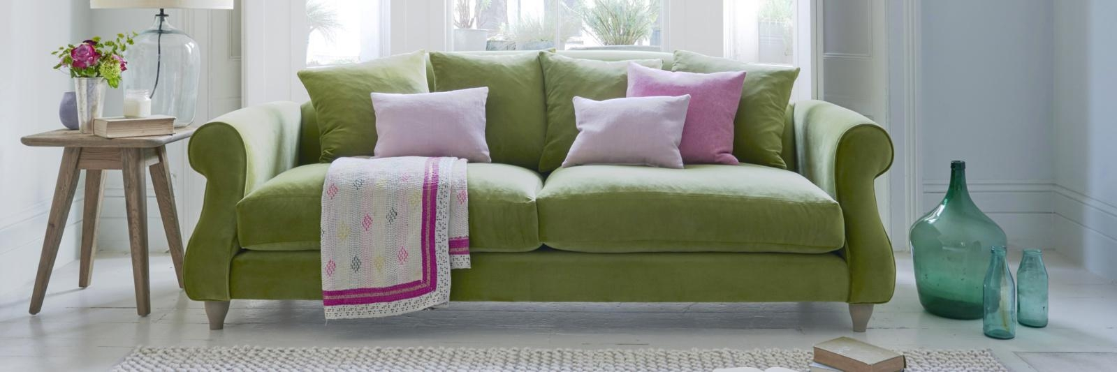 Green Sofas | Seriously Comfy Sofas | Loaf Regarding Green Sofas (Image 11 of 20)