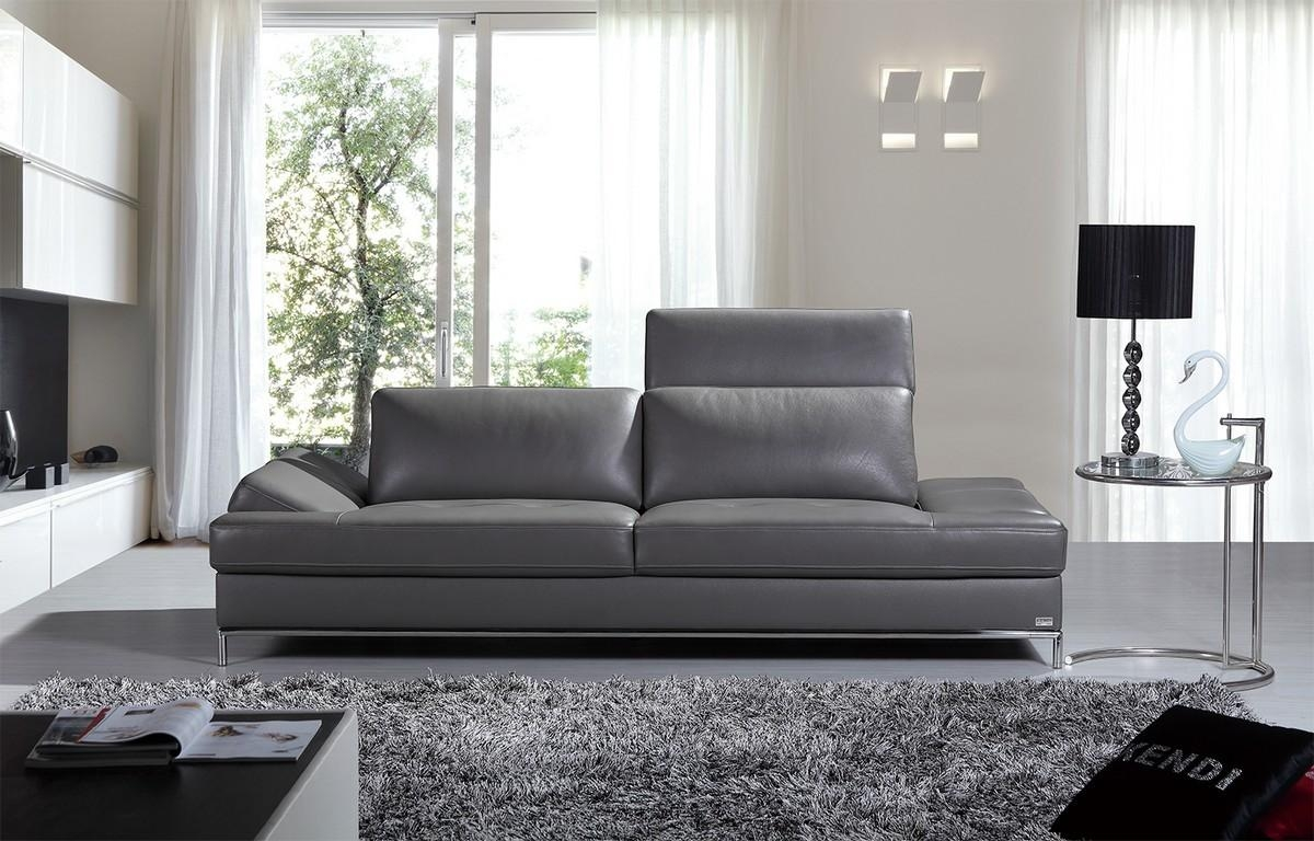 Grey Contemporary Sofa Furniture — Contemporary Furniture : How To In Grey Sofa Chairs (Image 11 of 20)