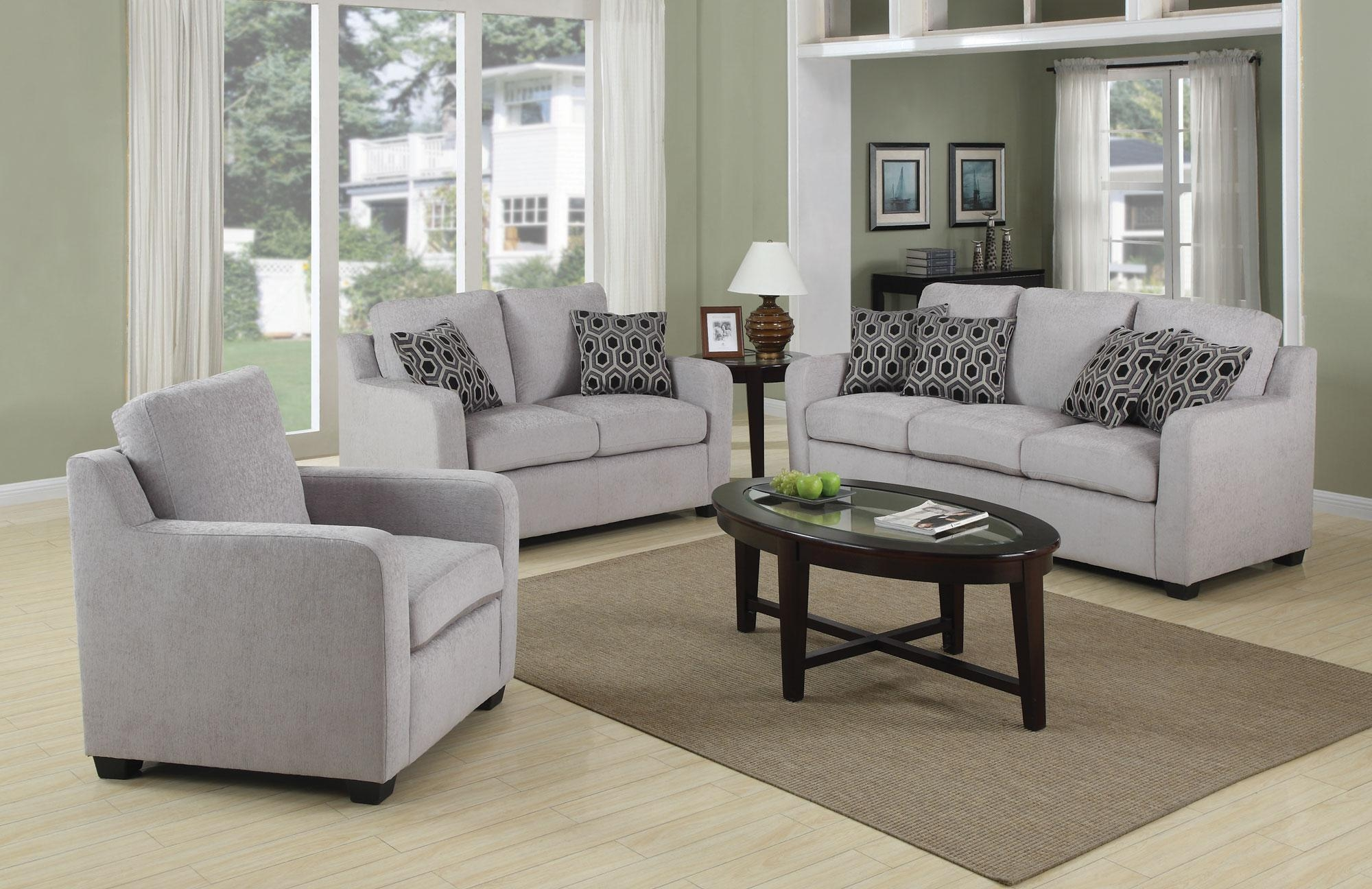 Grey Couch Living Room (Image 7 of 20)