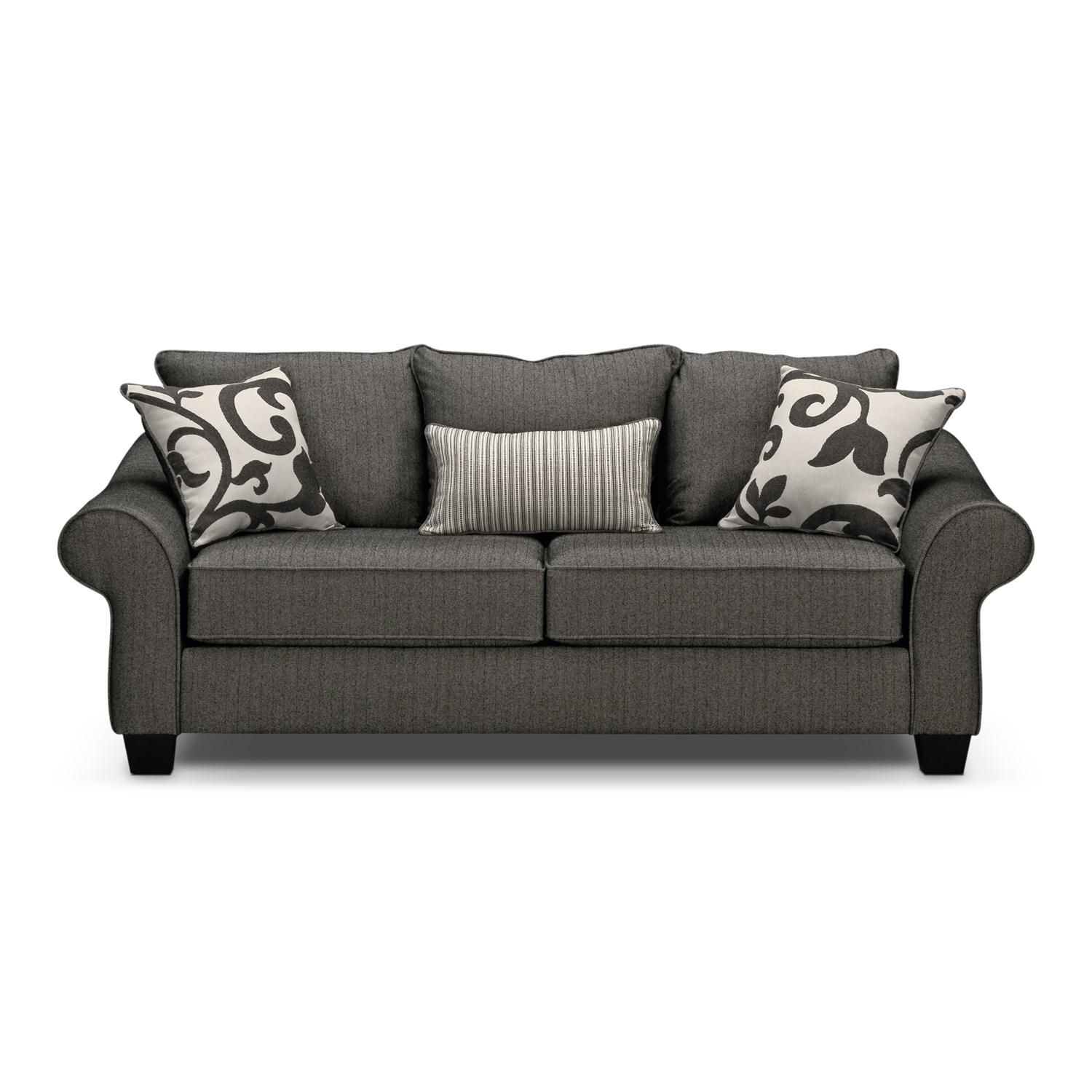 Grey Couches – Creditrestore For Gray Sofas (Image 8 of 20)
