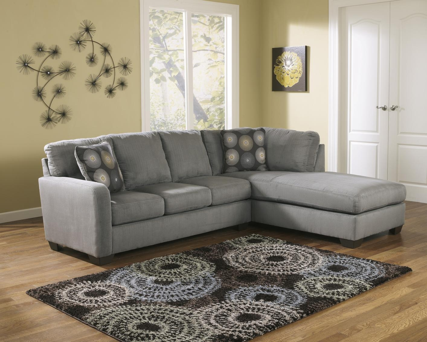 Grey Fabric Sectional Sofa – Steal A Sofa Furniture Outlet Los For Sectional Sofas Los Angeles (View 1 of 20)