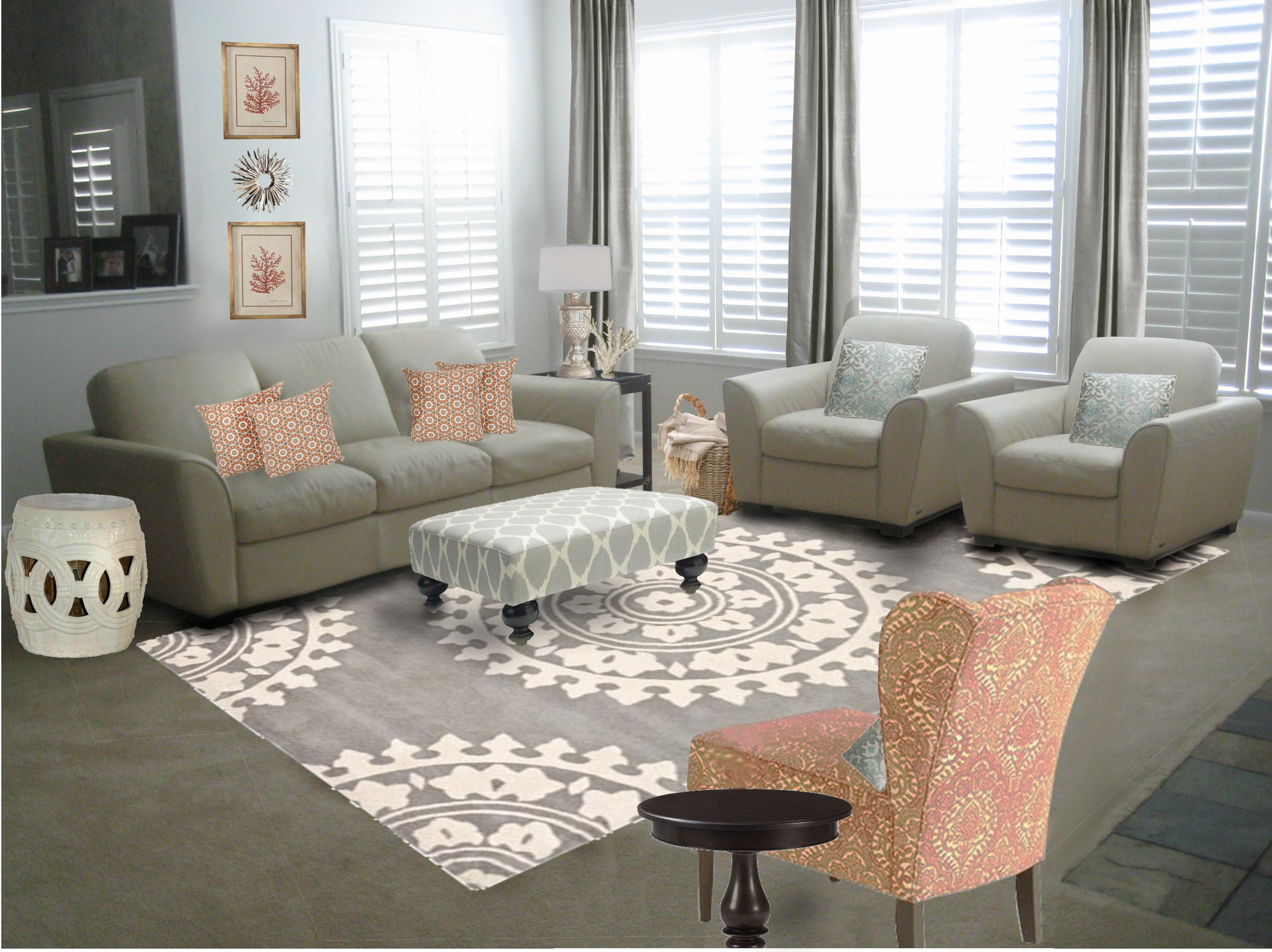 Grey Living Room Decor - Pueblosinfronteras within Living Room With Grey Sofas