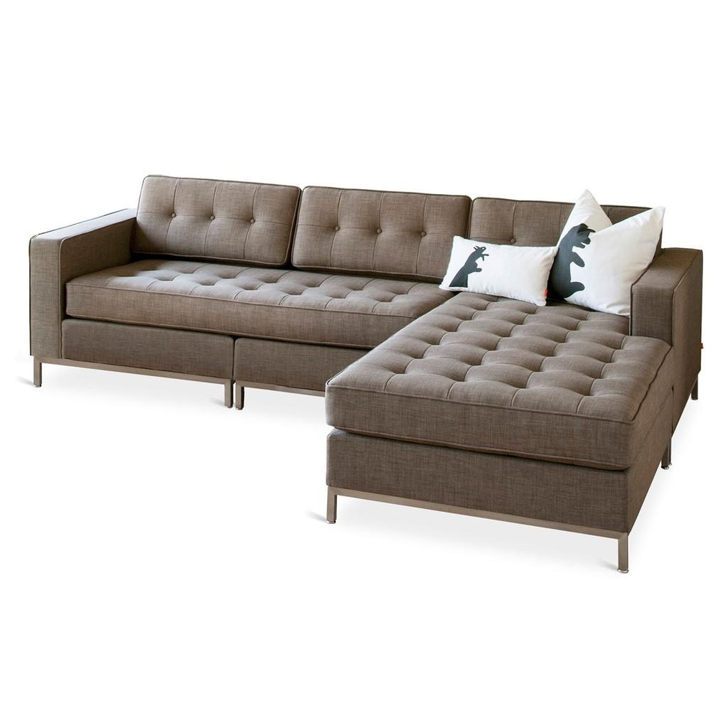Gus Modern Jane Bi Sectional : Grid Furnishings With Regard To Jane Bi Sectional Sofa (View 5 of 20)