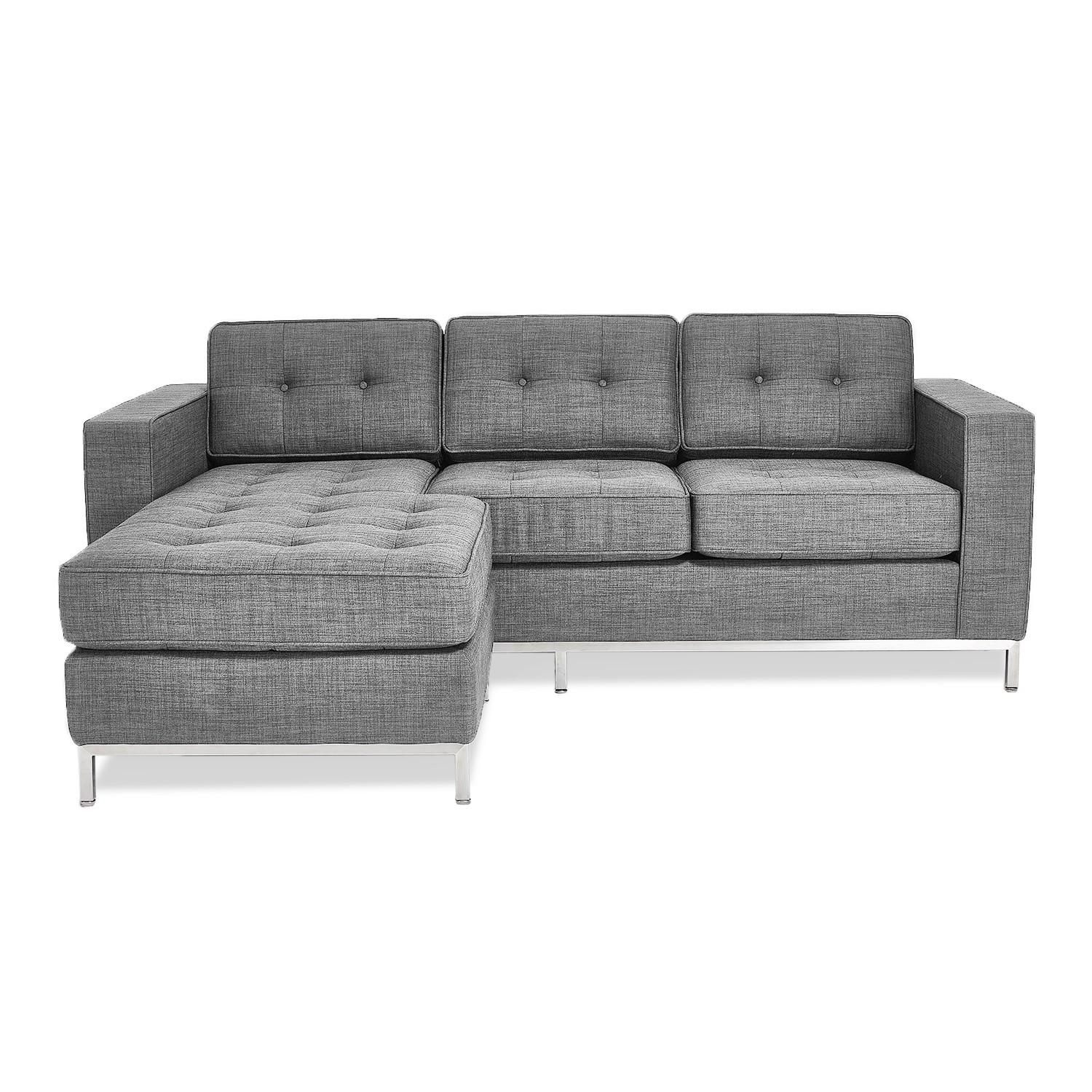 Gus* Modern Jane Loft Bi Sectional – Abc Carpet & Home Pertaining To Jane Bi Sectional Sofa (Image 7 of 20)