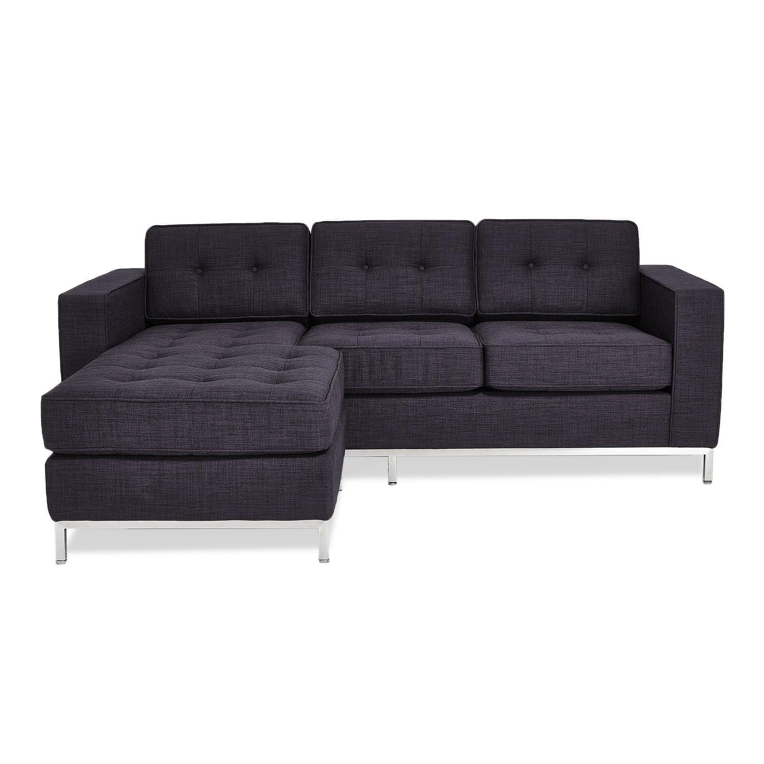 Gus* Modern Jane Loft Bi Sectional – Abc Carpet & Home With Regard To Jane Bi Sectional Sofa (Image 8 of 20)