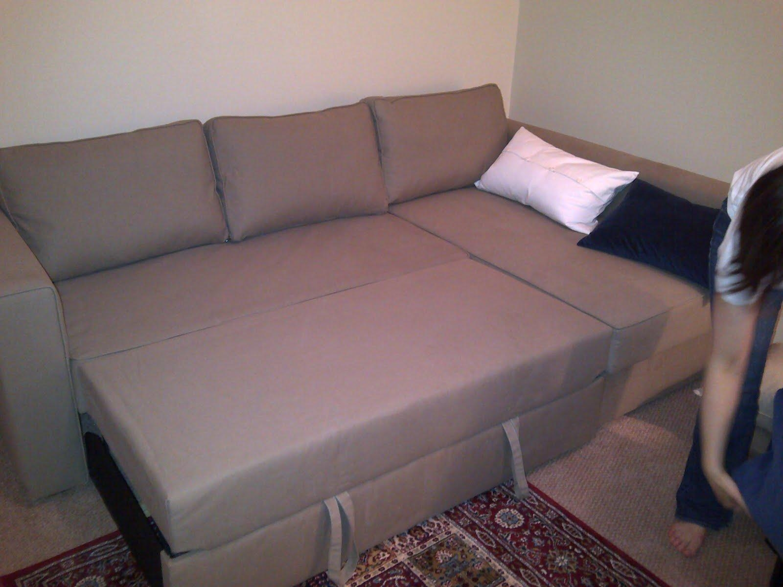 Hacker Help: Topper For The Månstad – Ikea Hackers – Ikea Hackers With Regard To Manstad Sofa Bed Ikea (View 4 of 20)