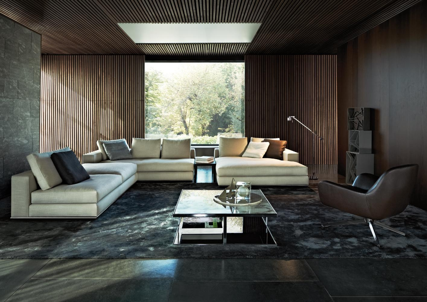 Hamilton Sectionalrodolfo Dordoni | Minotti Quickship With Regard To Hamilton Sofas (View 13 of 20)