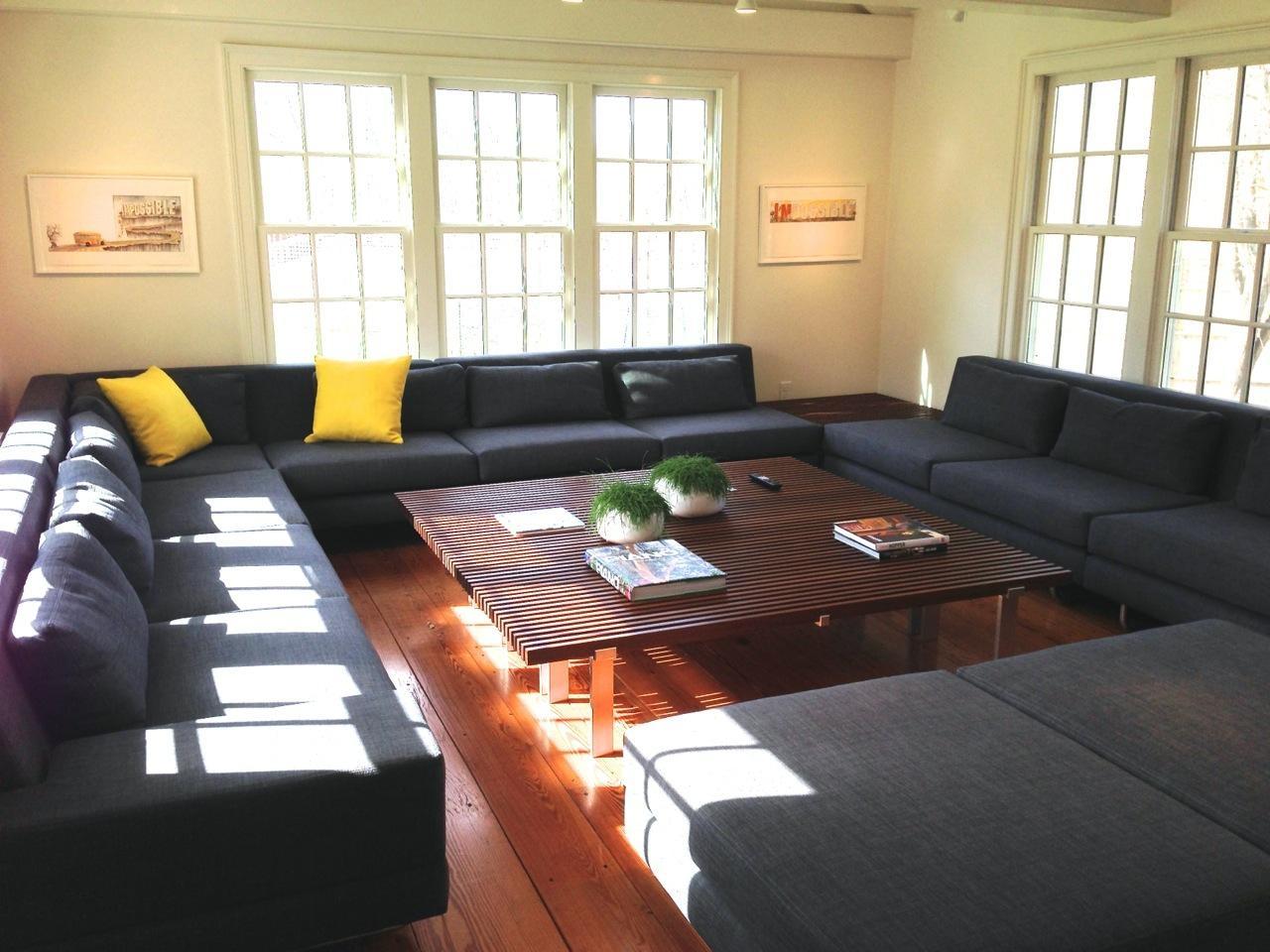 Hamlin Sofas / True Modern Blog – Truemodern™ Throughout Giant Sofas (View 11 of 20)