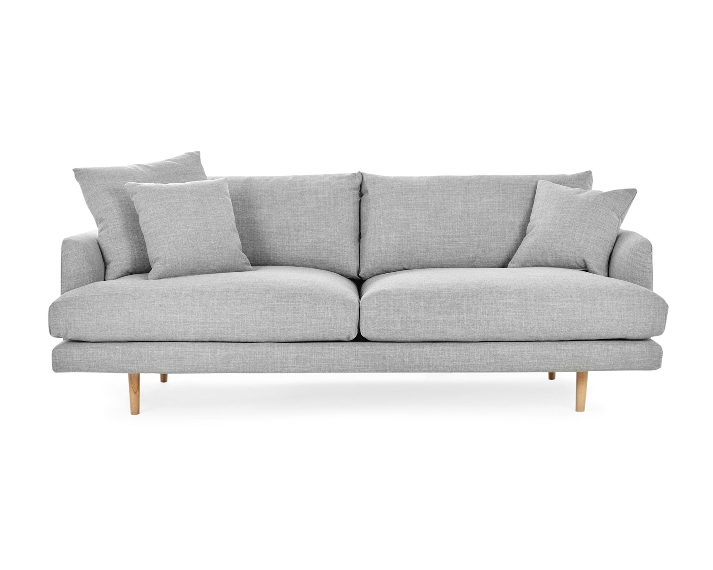 Hampton – 3 Seat Sofa | Loungelovers Within Modern 3 Seater Sofas (Image 7 of 20)