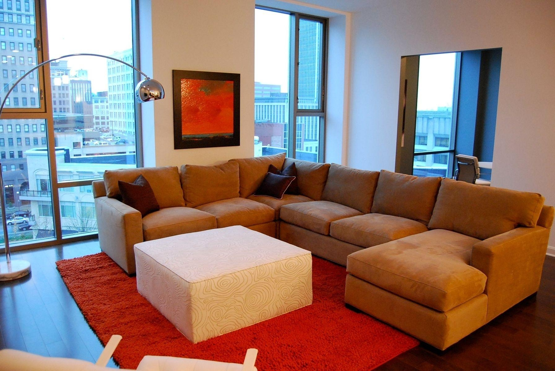 Hand Made Custom Sectional For Model Condoaccess Designer Pertaining To Custom Made Sectional Sofas (Image 9 of 15)