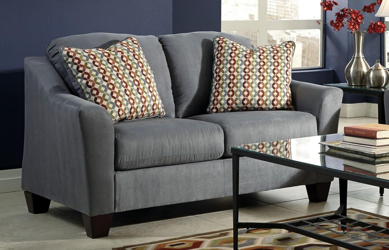 Hannin Lagoon Loveseat | Ashley Furniture | Orange County, Ca With Regard To Sofa Orange County (Image 5 of 20)