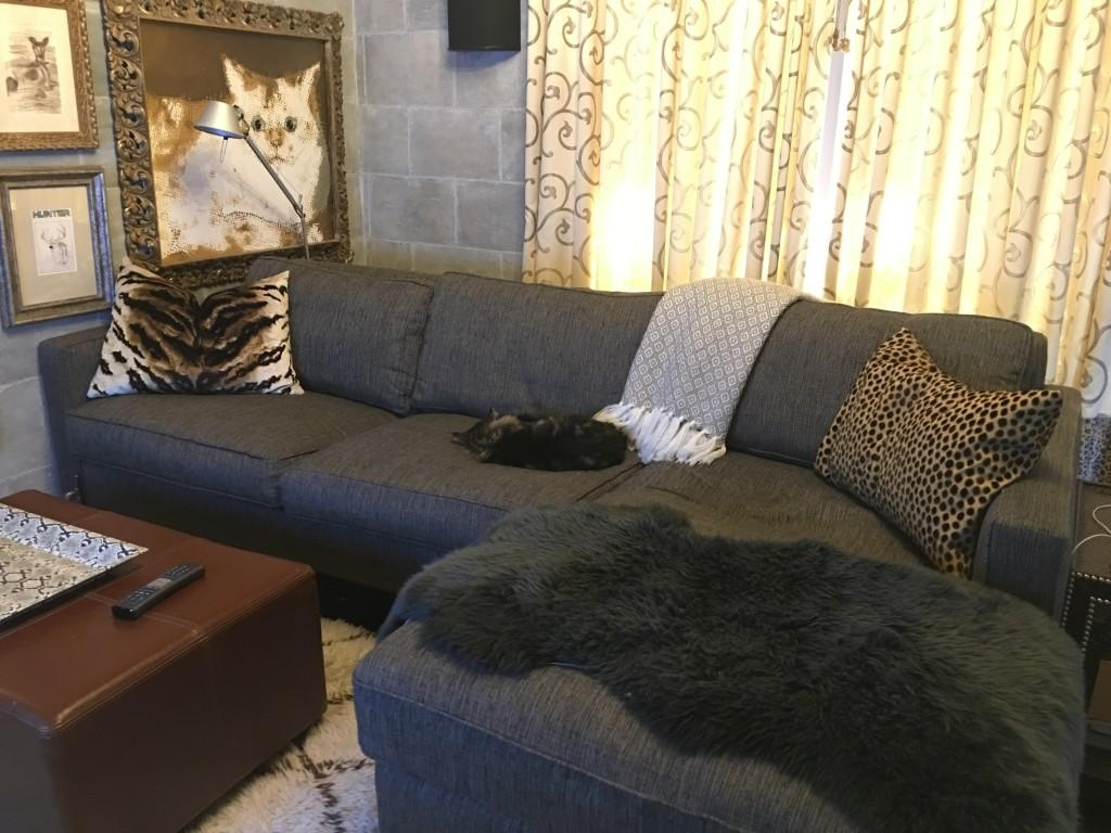 Harrison Sofas With Chaise – Modern Sectionals – Modern Living Regarding Harrison Sofas (View 13 of 20)
