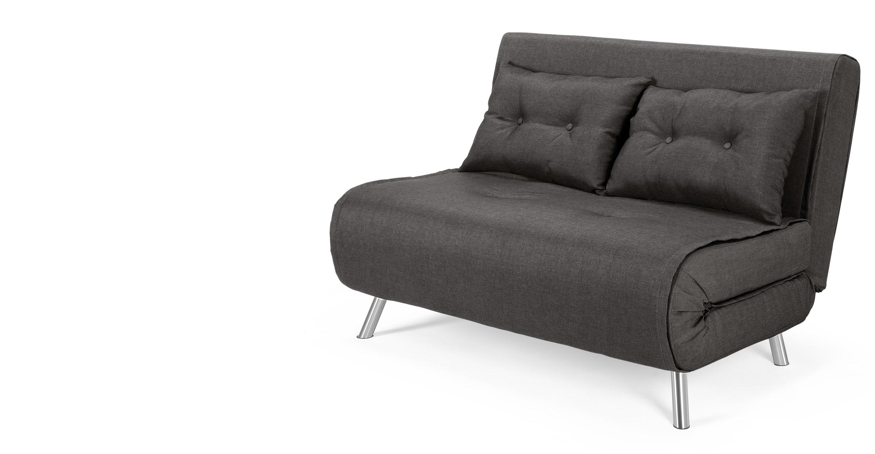 Haru Small Sofabed, Cygnet Grey | Made Throughout Small Grey Sofas (Image 6 of 20)