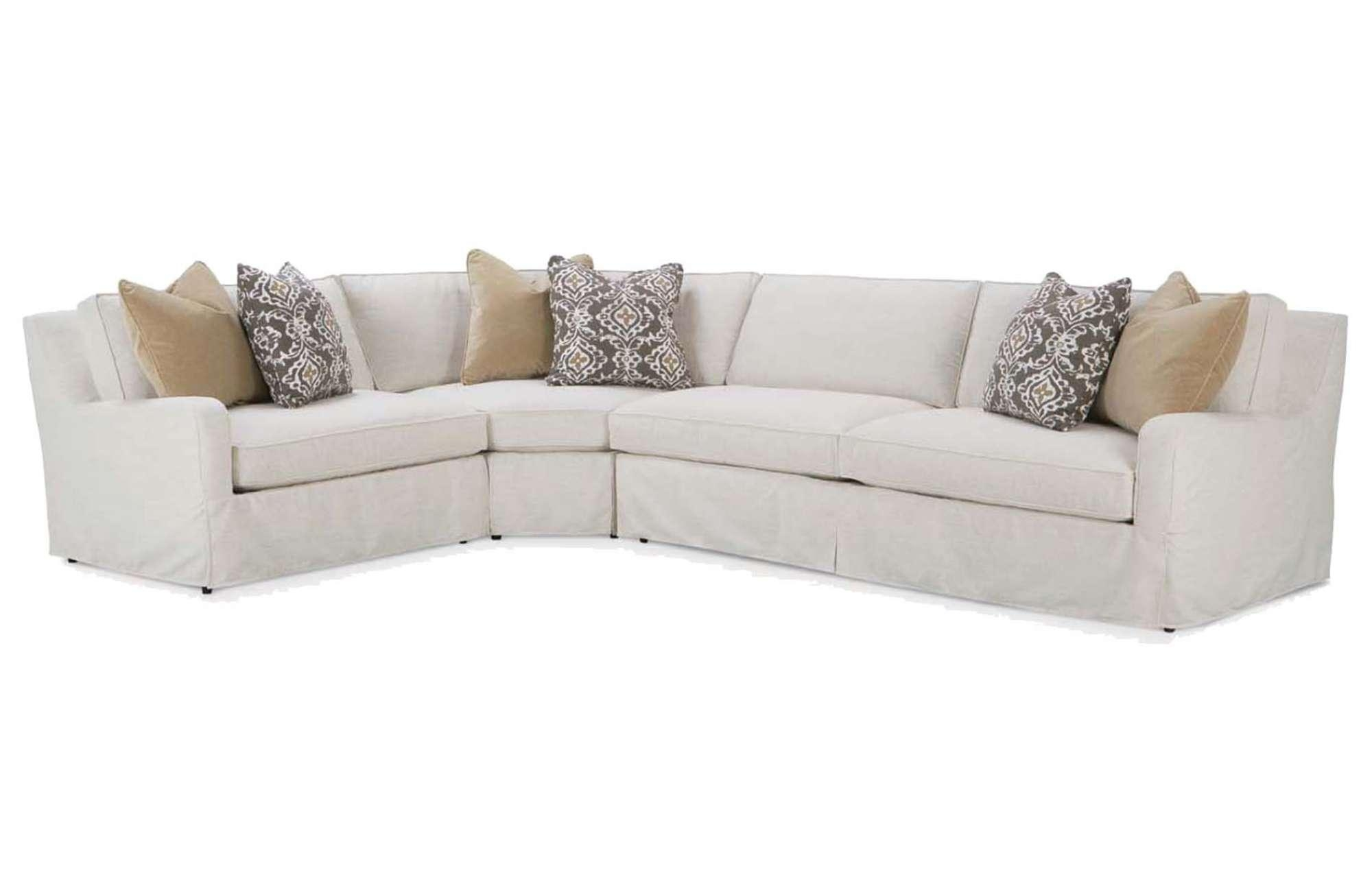 Havens Slipcover Sectionalrobin Bruce intended for Slipcovers For Sectional Sofas With Recliners