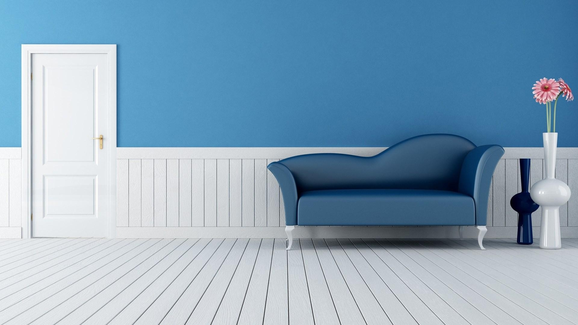 Hd Clear. 1920 X 1080. Blue Couch (Image 15 of 20)