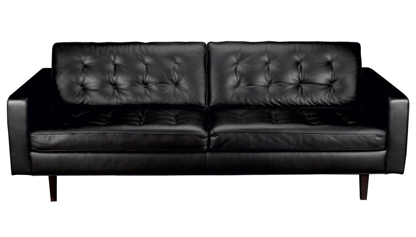 Heal's Hepburn 3 Seater Sofa Inside 3 Seater Leather Sofas (Image 6 of 20)