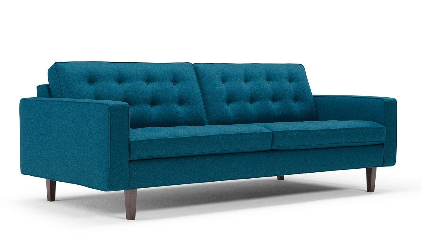 Hepburn 4 Seater Wool Sofa – Hepburn – Sofas In Large 4 Seater Sofas (Image 9 of 20)