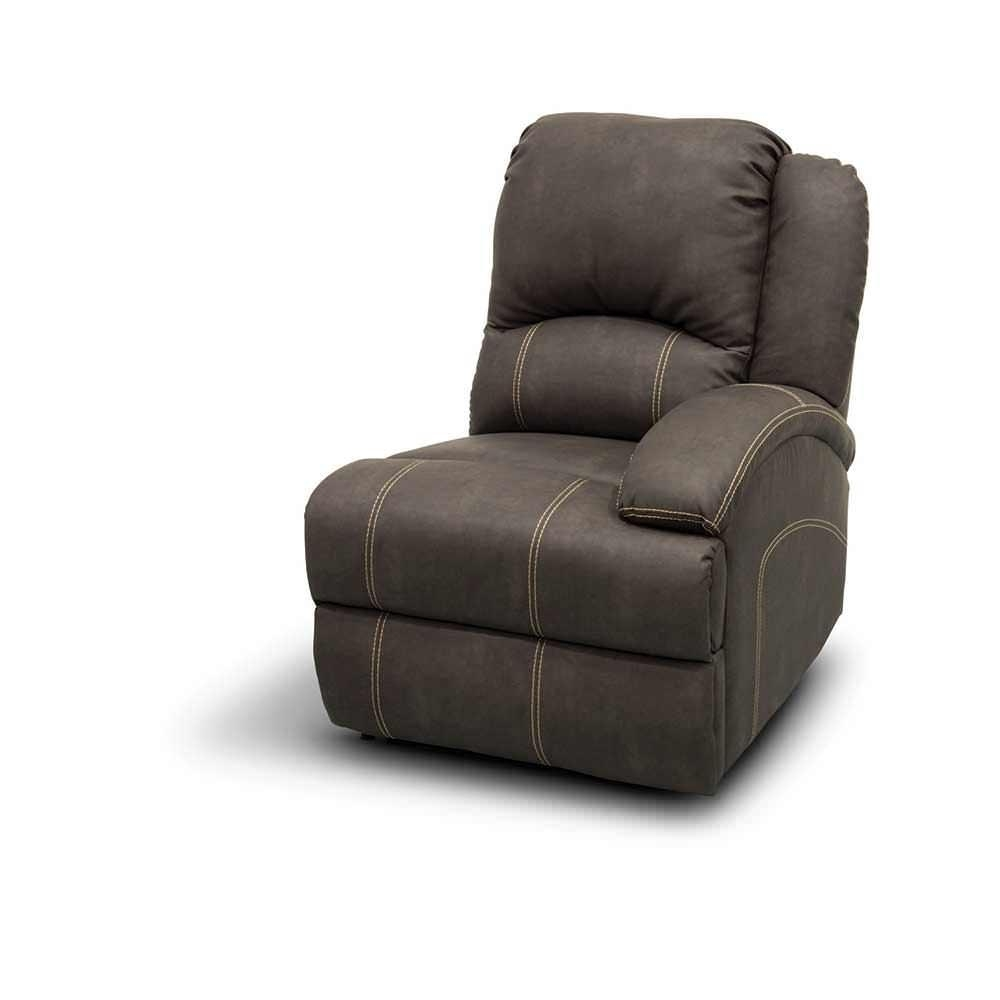 Heritage Left Arm Reclining Sofa, Beckham Steel – Lippert With Regard To Recliner Sofa Chairs (Image 13 of 20)
