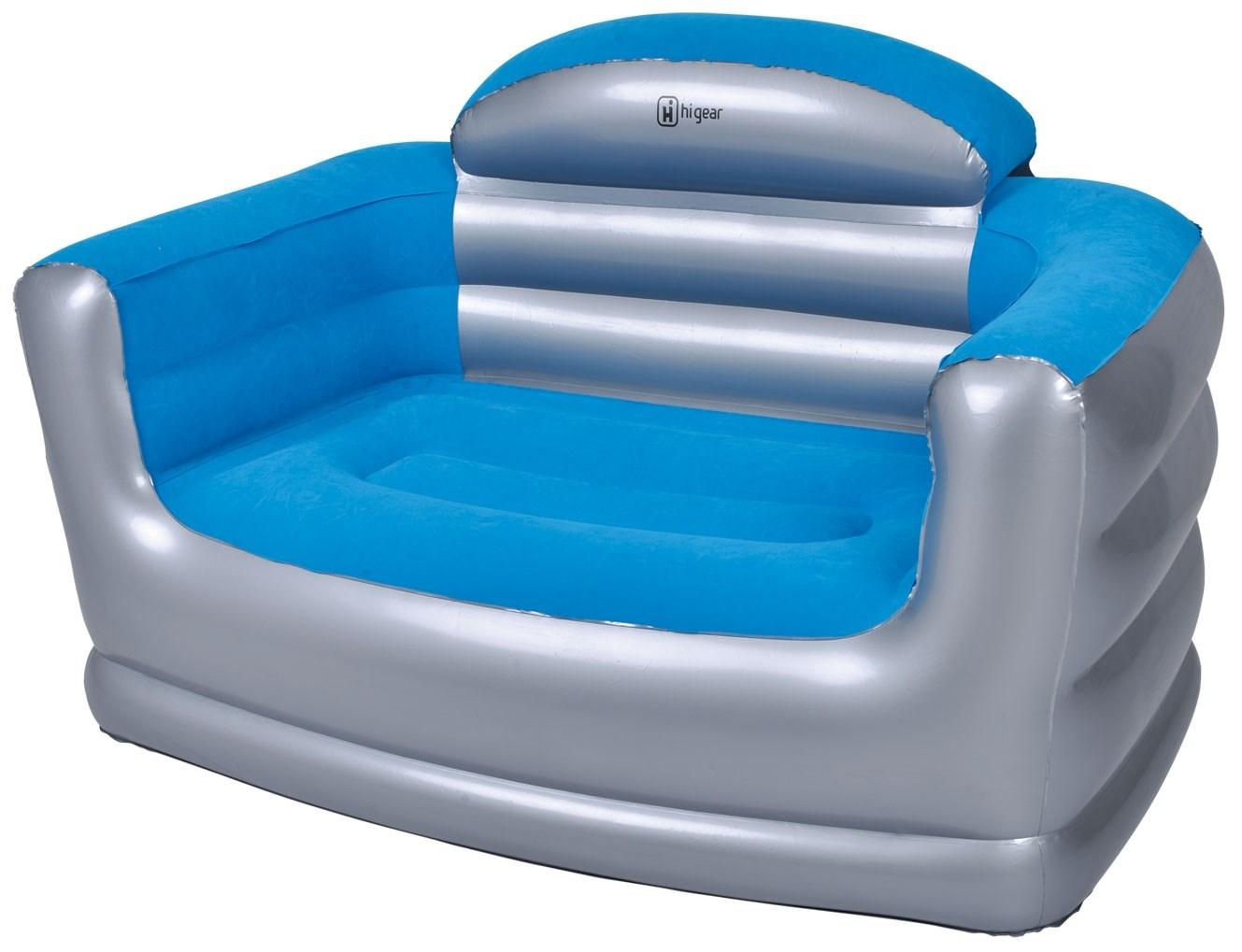 Hi Gear Inflatable Double Sofa | Go Outdoors Within Inflatable Sofas And Chairs (Image 8 of 20)