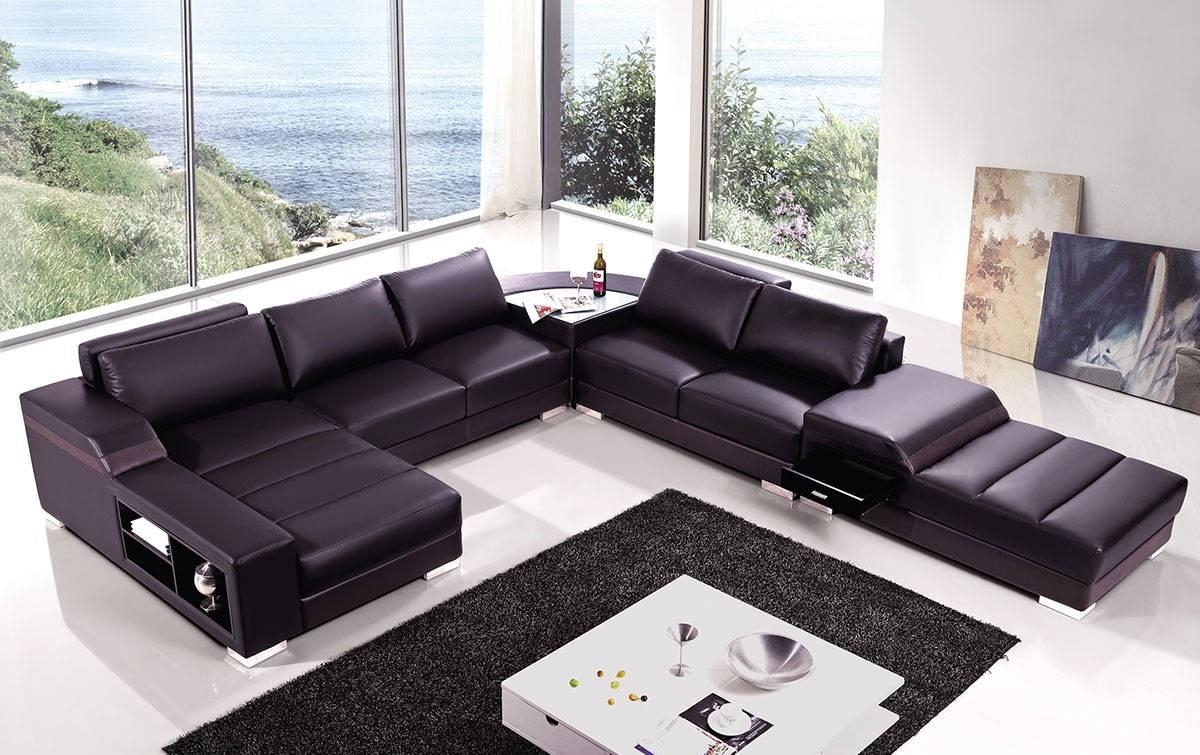 High End Covered In Bonded Leather Sectional Philadelphia With Regard To High End Leather Sectional Sofa (View 4 of 15)