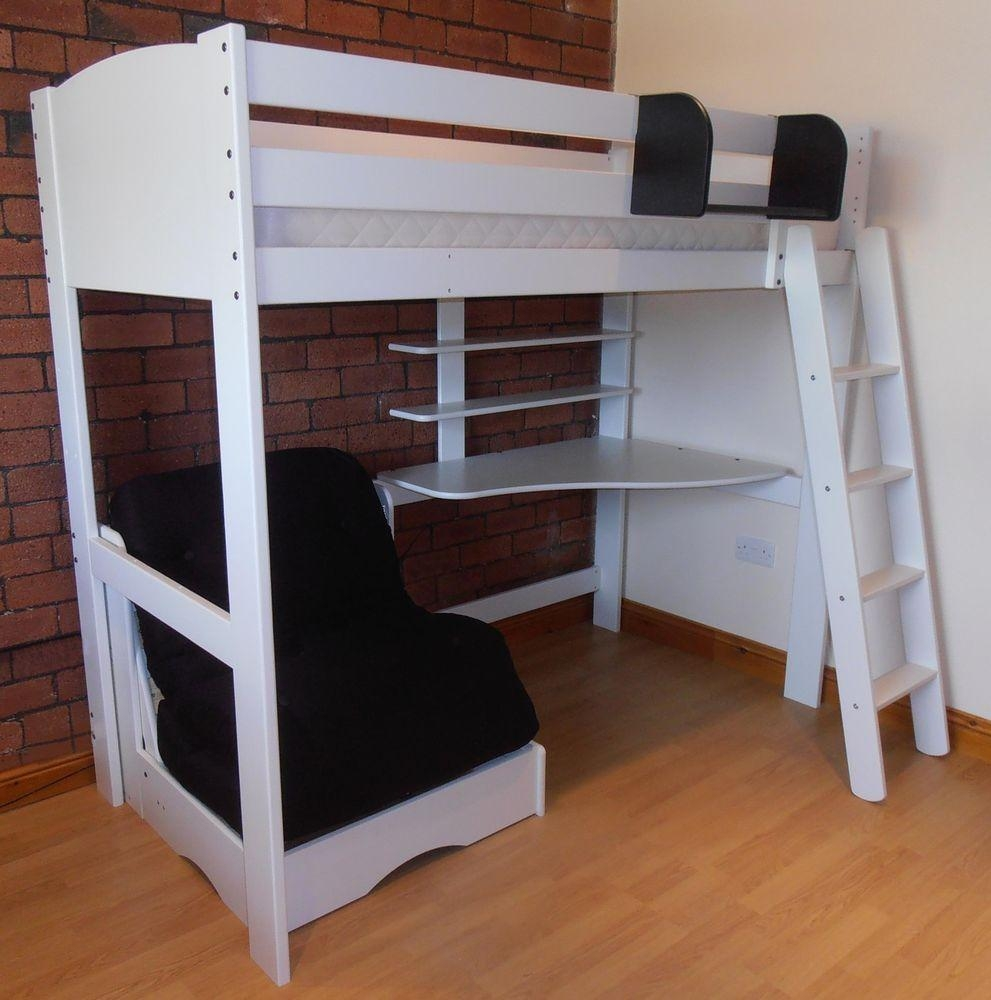 High Sleeper Bed With Desk And Sofa Bed – Ansugallery Within High Sleeper With Desk And Sofa (View 6 of 20)