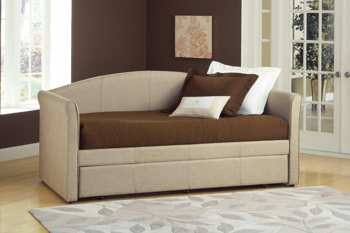 Hillsdale Siesta Daybed With Trundle & Reviews | Wayfair With Sofas Daybed With Trundle (Image 9 of 20)