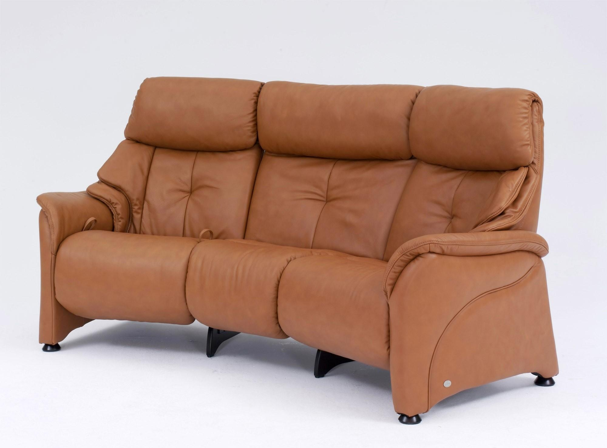 Himolla Chester Curved 3 Seater Manual Reclining Sofa | Tr Hayes Inside Curved Recliner Sofa (View 20 of 20)