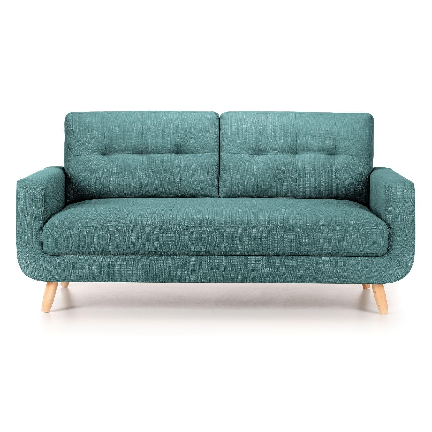 Hockney 3 Seater Fabric Sofa – Next Day Delivery Hockney 3 Seater Intended For Fabric Sofas (View 15 of 20)
