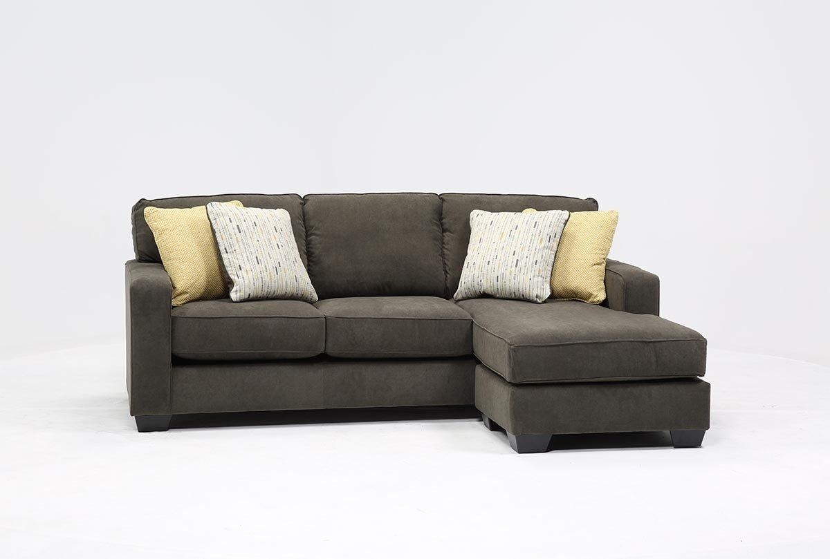 Hodan Sofa/chaise – Living Spaces Pertaining To Chaise Sofas (Image 10 of 20)