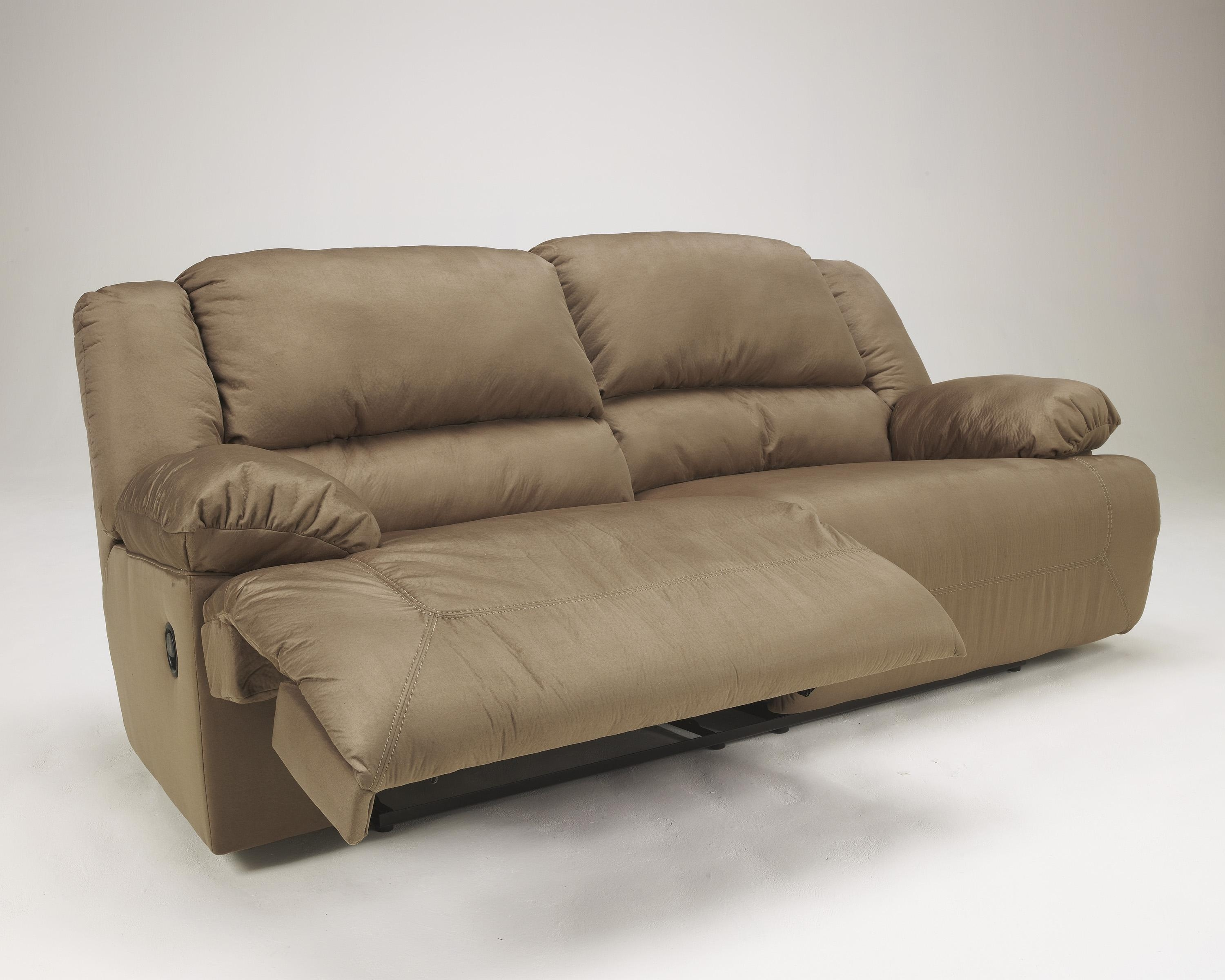 Hogan Contemporary Mocha 2 Seat Reclining Sofa | Living Rooms With Regard To 2 Seat Recliner Sofas (View 6 of 20)