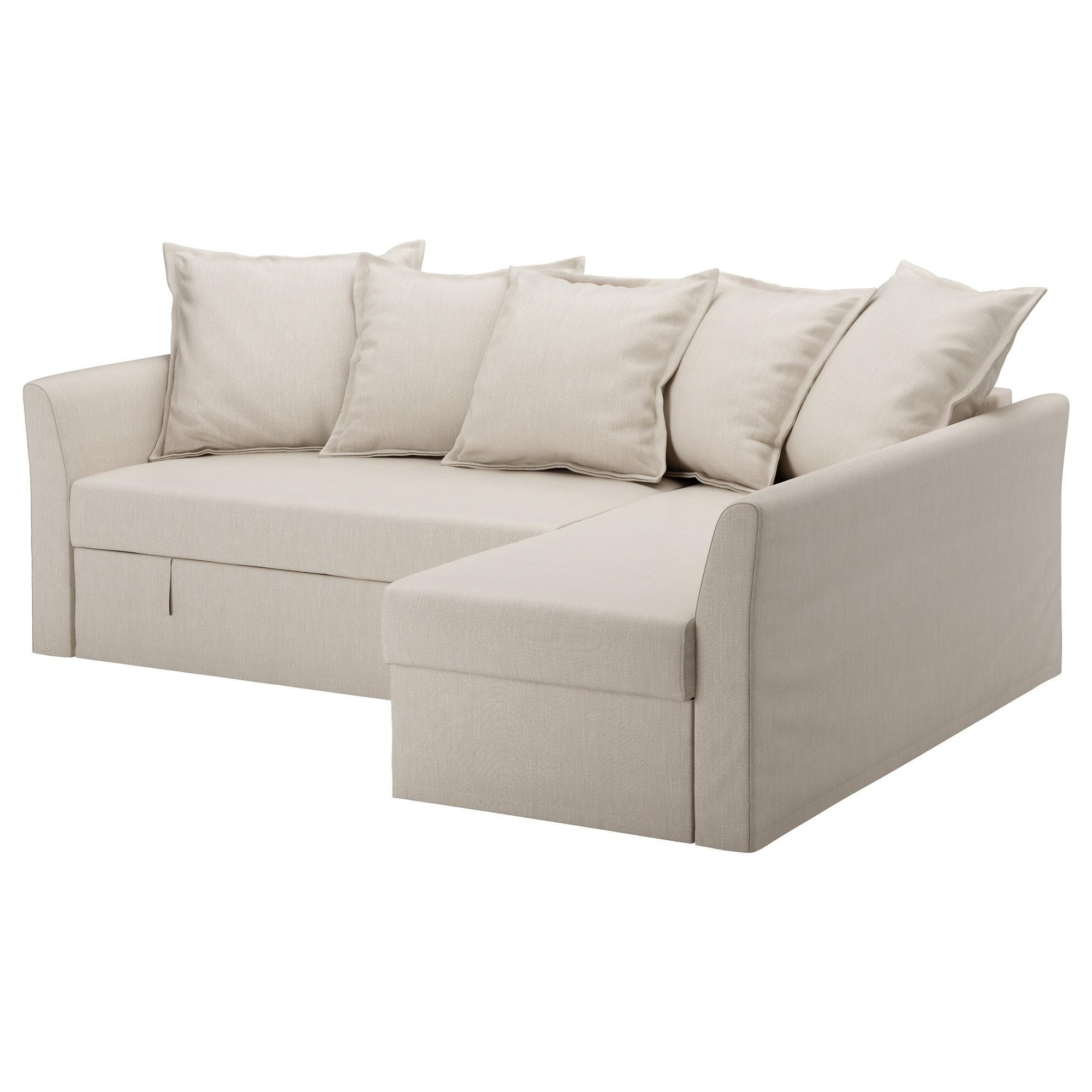 Holmsund Corner Sofa Bed Nordvalla Beige – Ikea Pertaining To Corner Sofa Beds (Image 13 of 20)