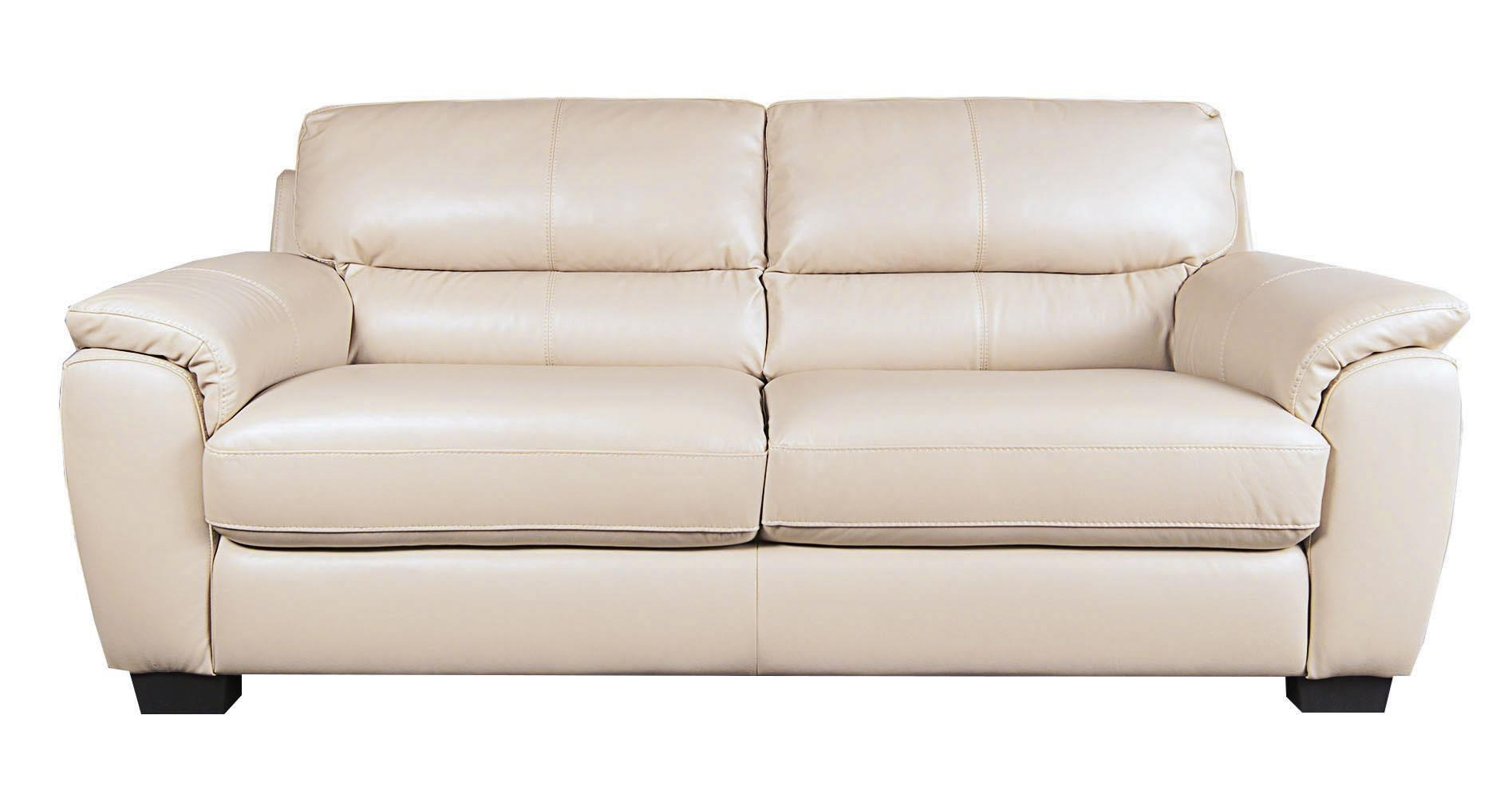 Holt 100% Leather Sofa – Morris Home – Sofas For Beige Leather Couches (Image 11 of 20)