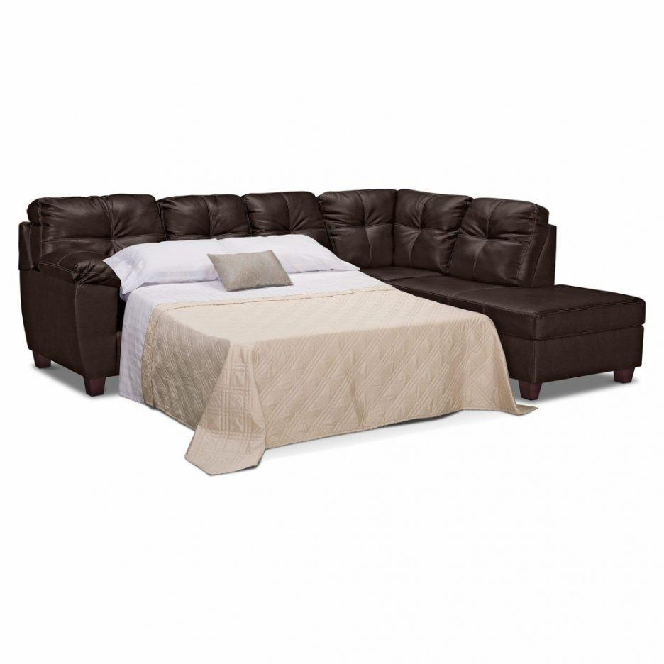 Home Makeovers And Decoration Pictures : Sectional Sleeper Sofas Regarding Faux Leather Sleeper Sofas (View 16 of 20)