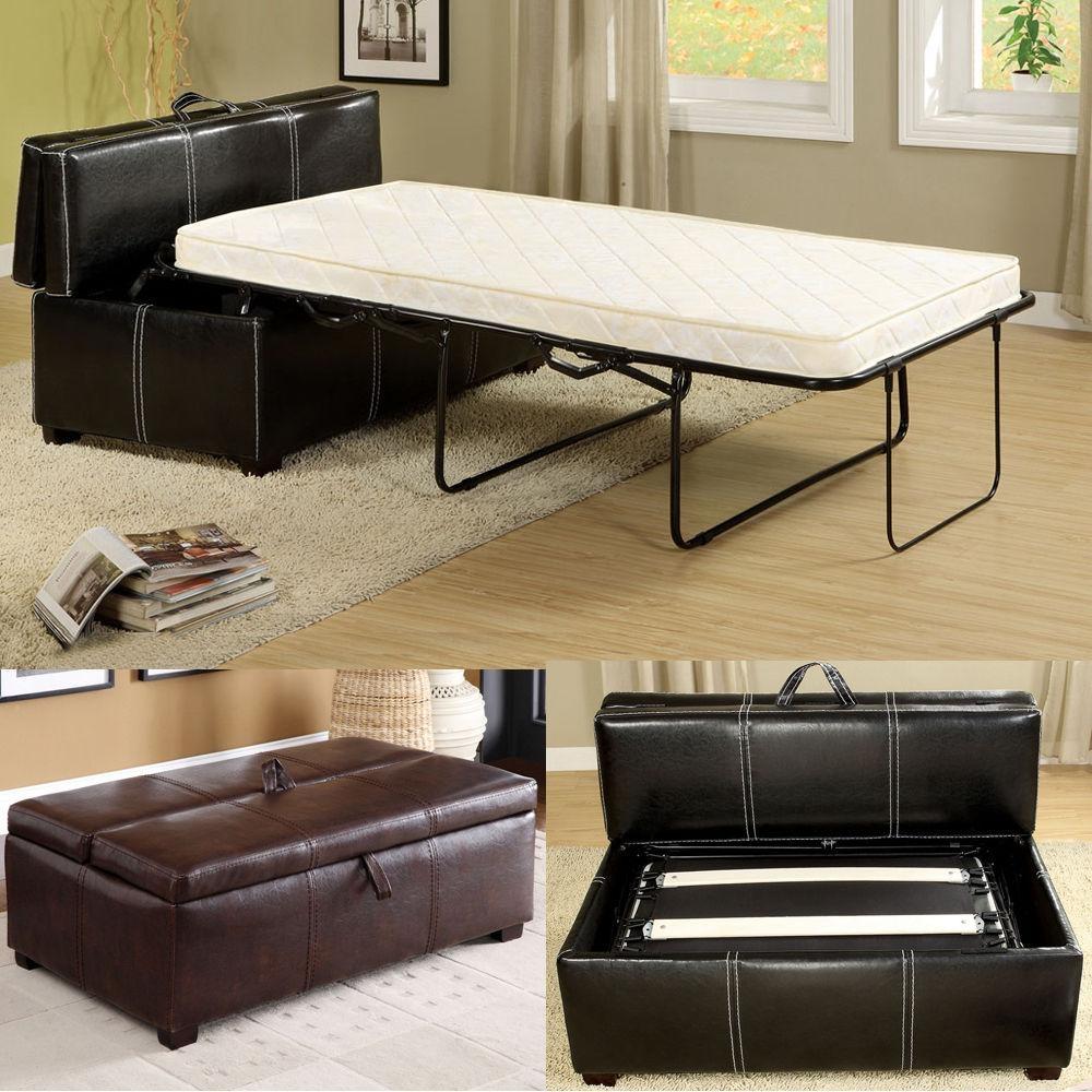 20 photos footstool pouffe sofa folding bed sofa ideas for Portable bed ideas