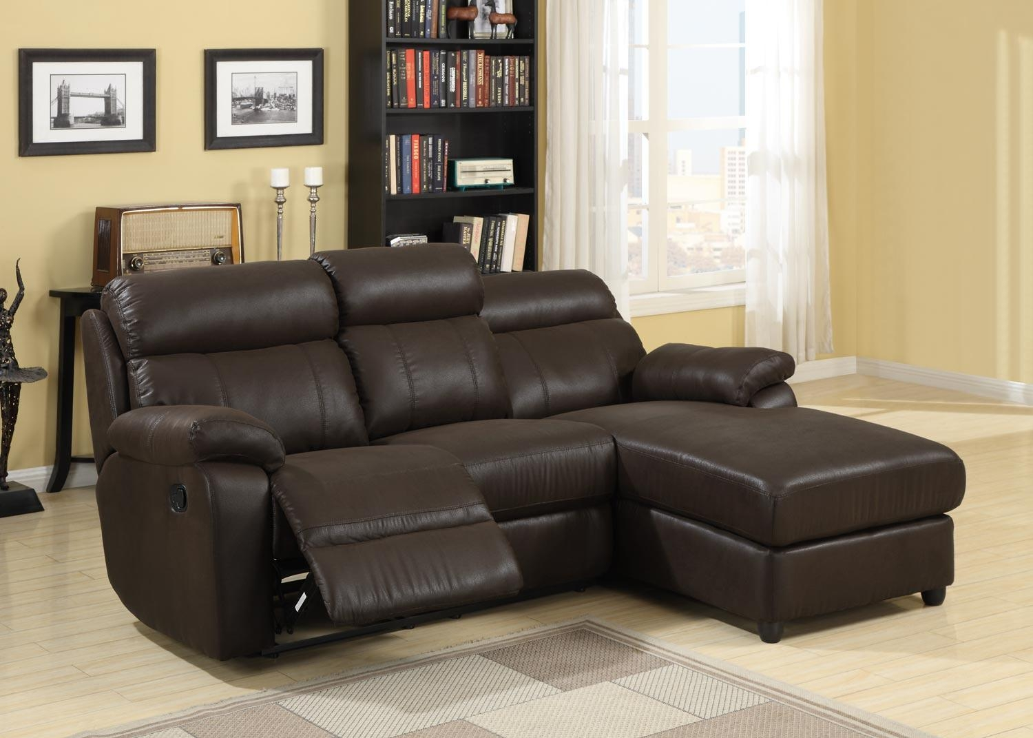 Homelegance Gaines Sectional Sofa – Brown – Bomber Jacket Inside Bomber Leather Sofas (Image 8 of 20)