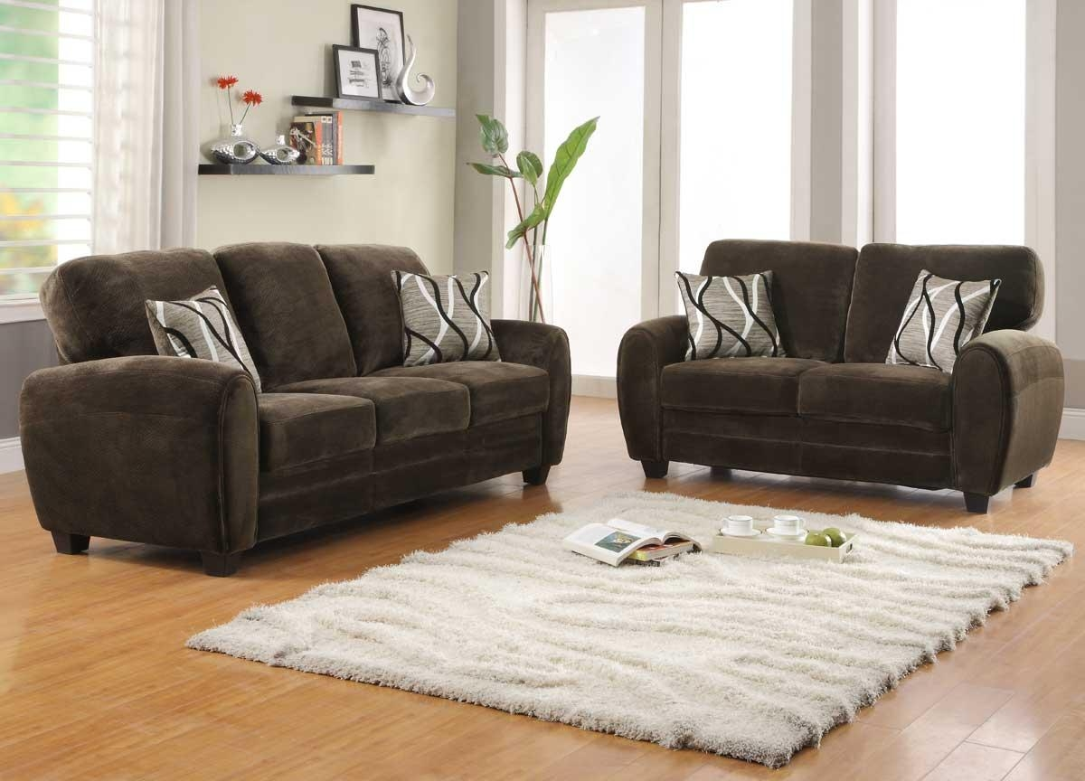 Homelegance Rubin Sofa – Dark Brown 9734Db 3 Pertaining To Homelegance Sofas (View 12 of 20)