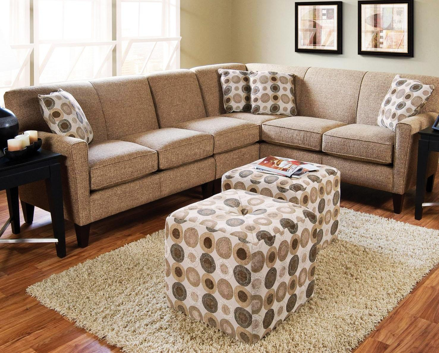 How To Choose Sectional Sofas For Small Spaces | Homefurniture Regarding Sectional Small Spaces (Image 13 of 20)