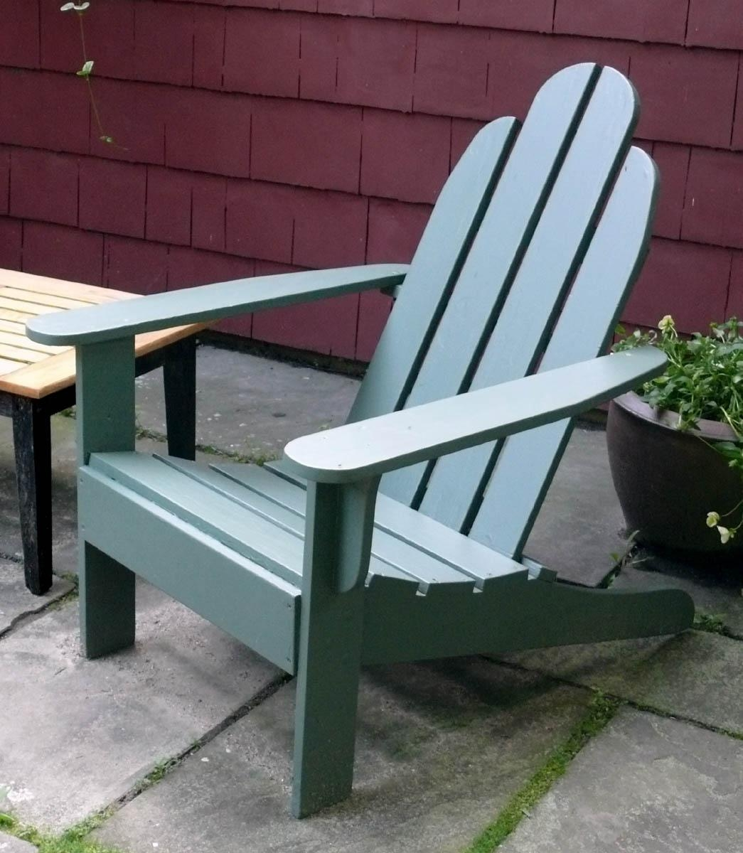 How To Make Outdoor Furniture – Finewoodworking Intended For Outdoor Sofas And Chairs (View 9 of 20)