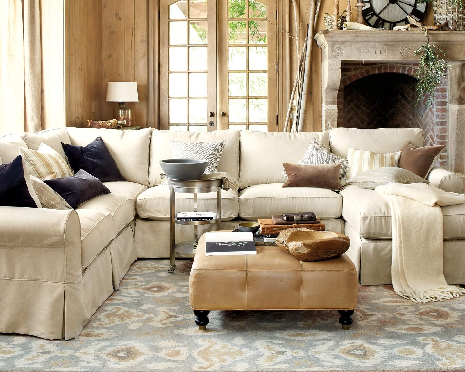 How To Match A Coffee Table To Your Sectional – How To Decorate Intended For Coffee Table For Sectional Sofa (Image 9 of 15)
