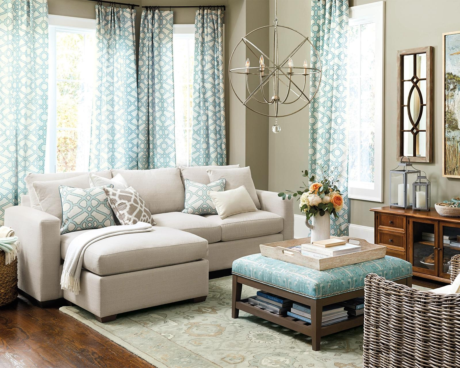 How To Match A Coffee Table To Your Sectional – How To Decorate Throughout Coffee Table For Sectional Sofa (Image 10 of 15)