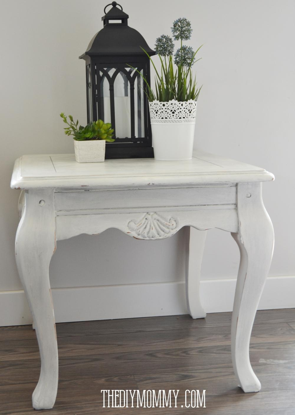 How To Paint Furniture Shabby Chic – Home Design Ideas And Pictures In Shabby Chic Sofa Tables (View 19 of 20)