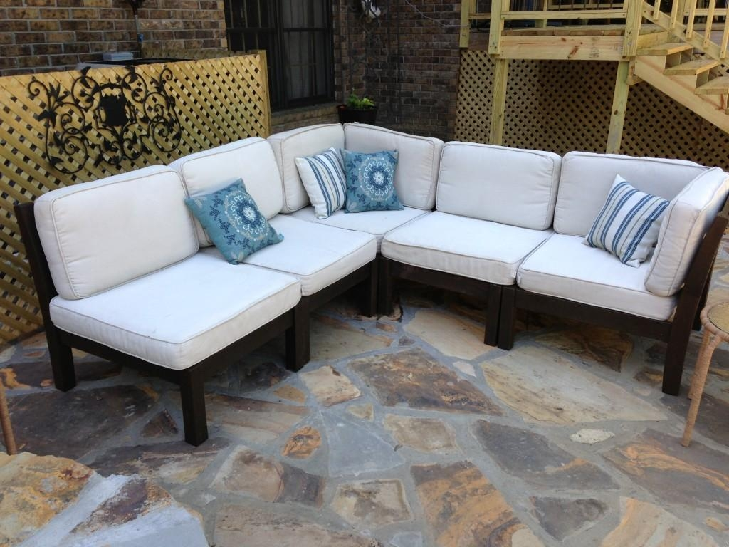 How To Rehab An Outdoor Sectional Intended For Pottery Barn Sectionals (Image 18 of 20)