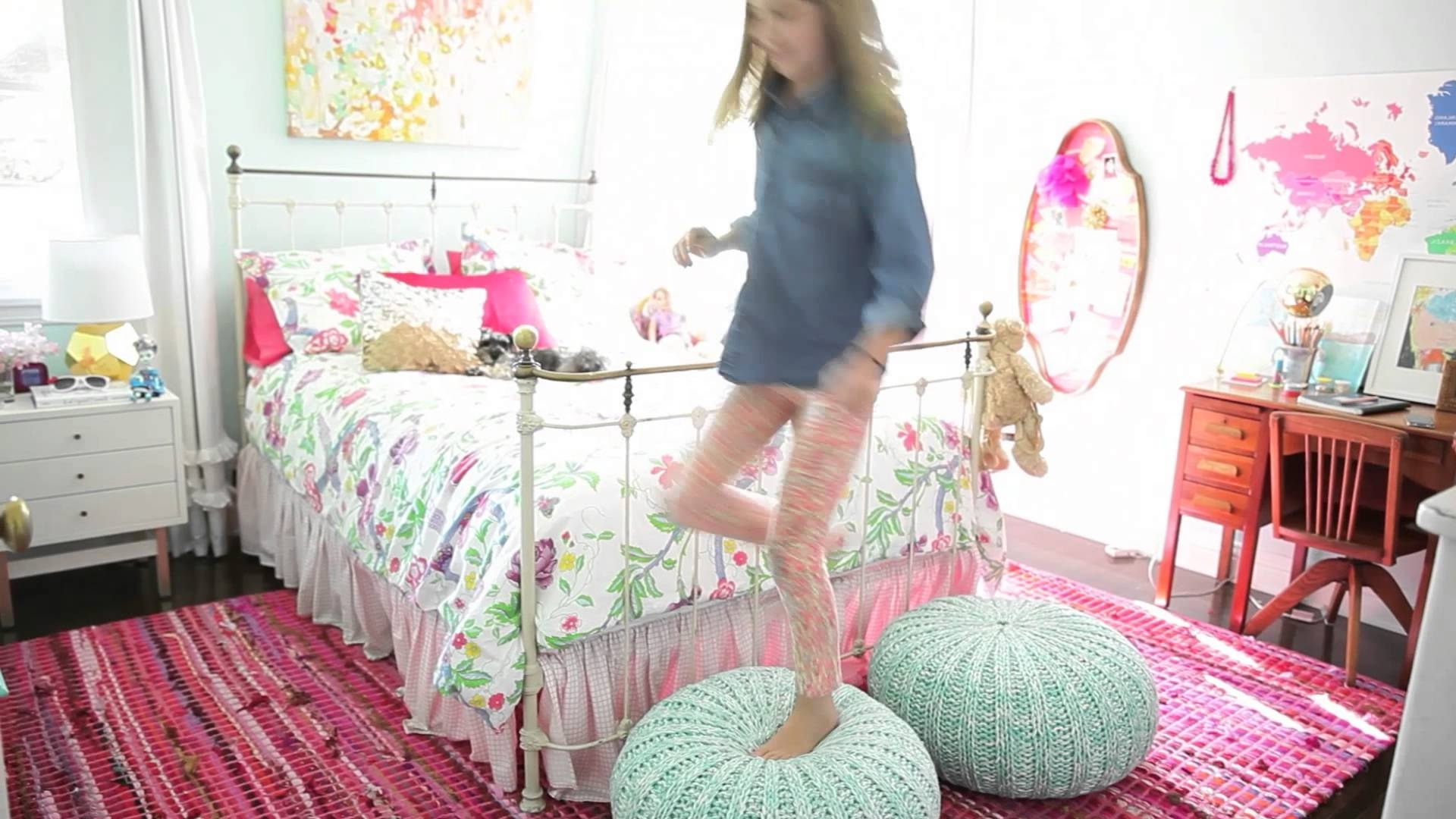 How To Style A Girls Room – Youtube Intended For How To Decorate A Girls Room (Image 22 of 24)
